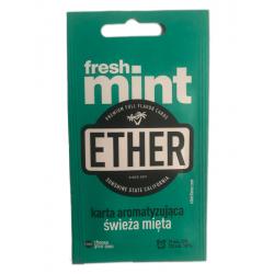 Karta / wkładka aromatyzująca Ether - Fresh mint - 1 -  - 1,39zł
