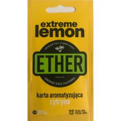 Karta / wkładka aromatyzująca Ether - Extreme lemon - 1 -  - 1,39zł