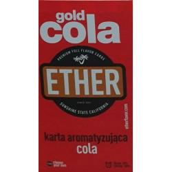 Karta / wkładka aromatyzująca Ether - Gold cola - 1 -  - 1,39zł